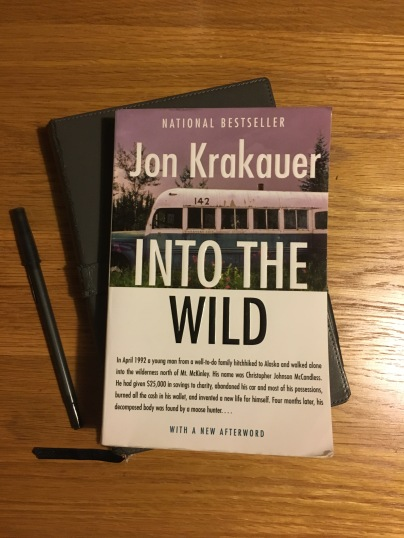 an analysis of into the wild a book by jon krakauer The movie's theme is somehow same but the way it is presented quite different  than the book the book into the wild, is a travel essay written by jon krakauer.